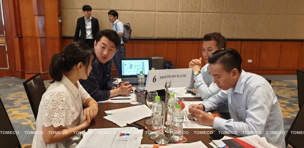 TOMECO trao đổi trực tiếp với doanh nghiệp Hàn Quốc tại sự kiện